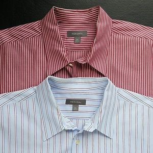 Pair of Men's Merona Dress Shirts XXL